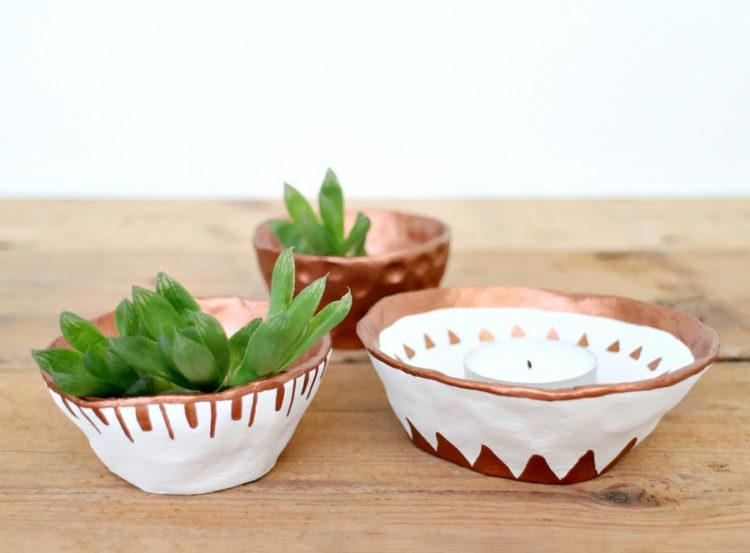 air-dry-clay-pots-and-tealights