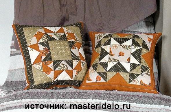 Podushka-po-skheme-Nabor-treugolnikov